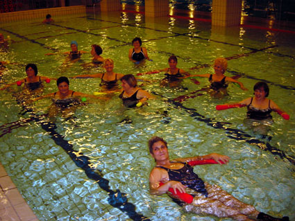 AquaFitness-Training im Haba City